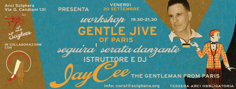 20.09.19 | Workshop Gentle Jive | c/o La Scighera